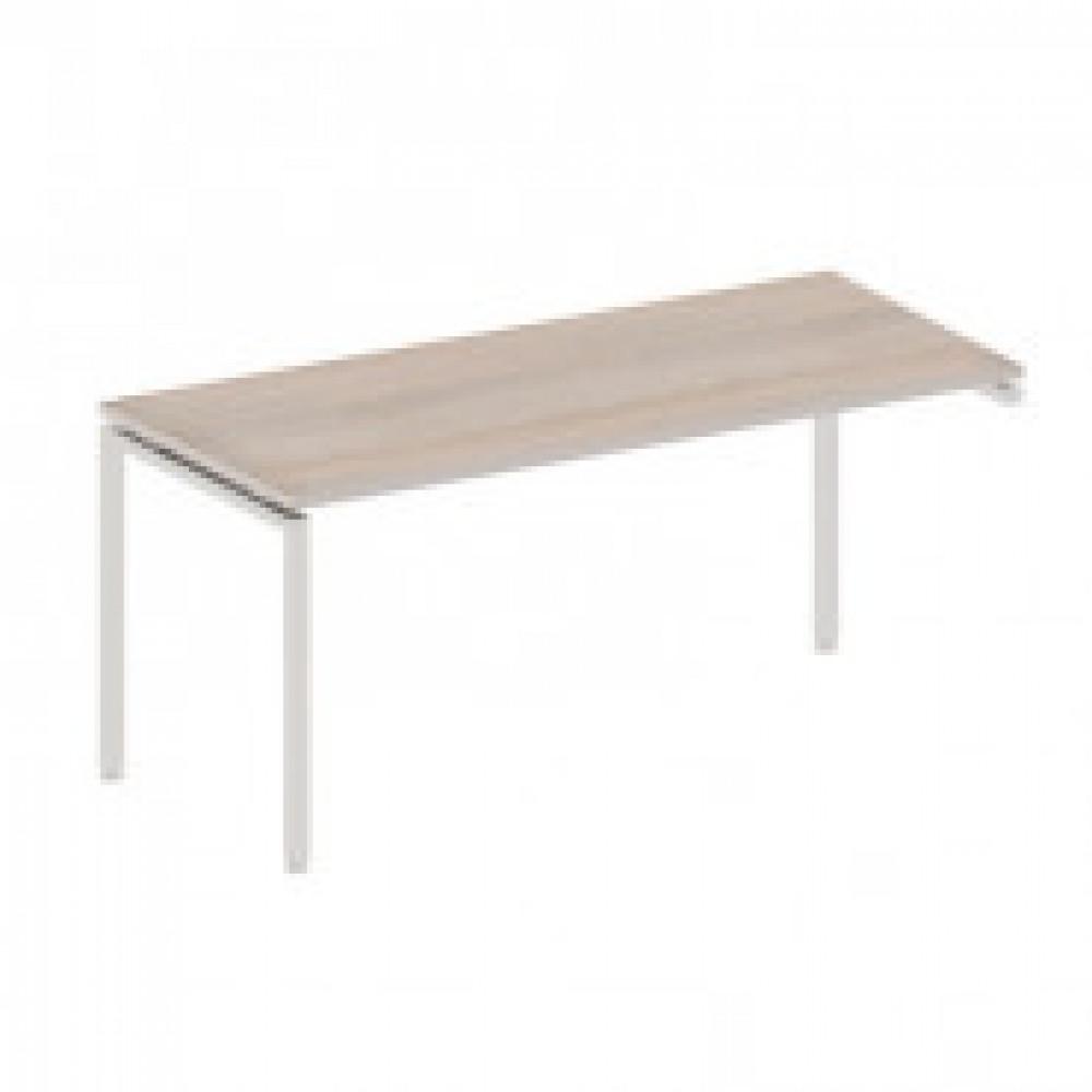 Мебель Easy T Стол прав(68,60,63,71) св.дуб(430/720) Ш1600