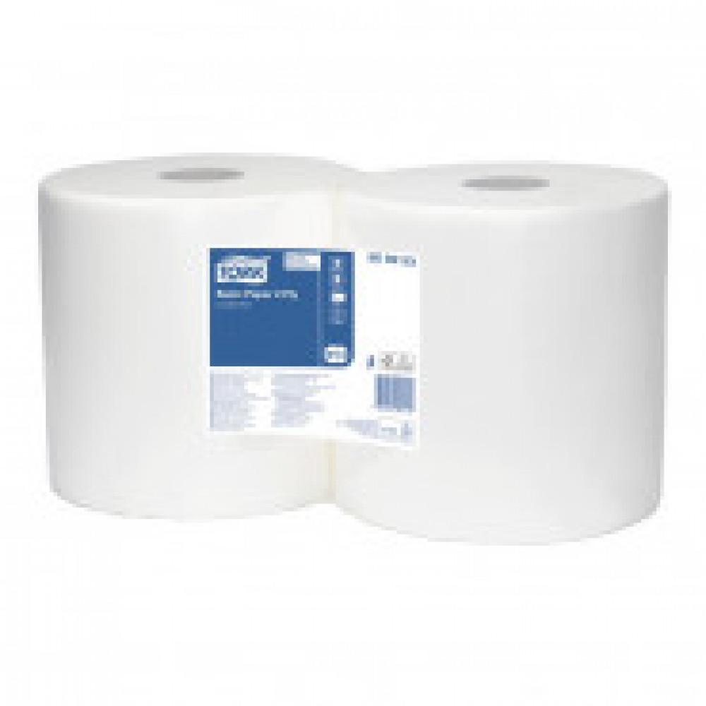 Бумага протирочная Tork базовая W1/W2 2 сл. ЦВ 800лx2рул/уп, белая 509253