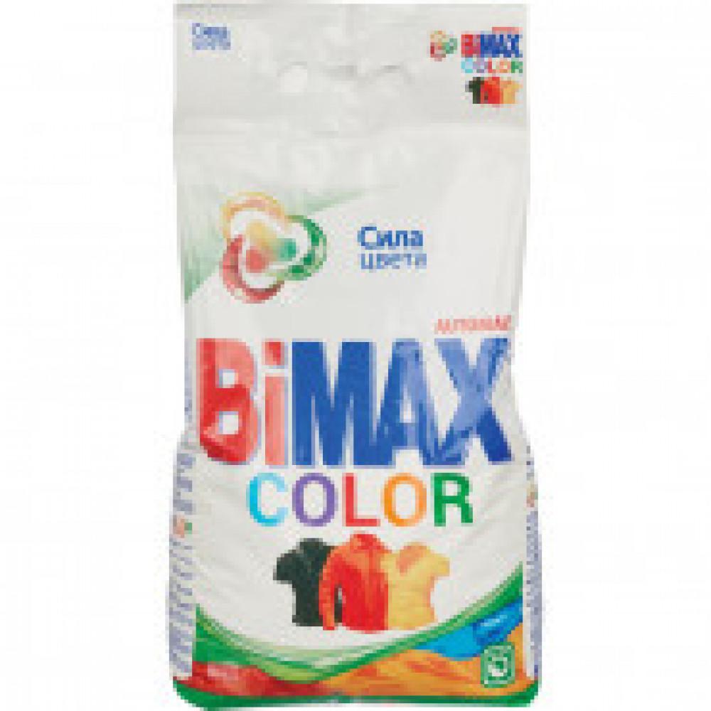 Порошок стиральный BiMax Колор автомат 6 кг