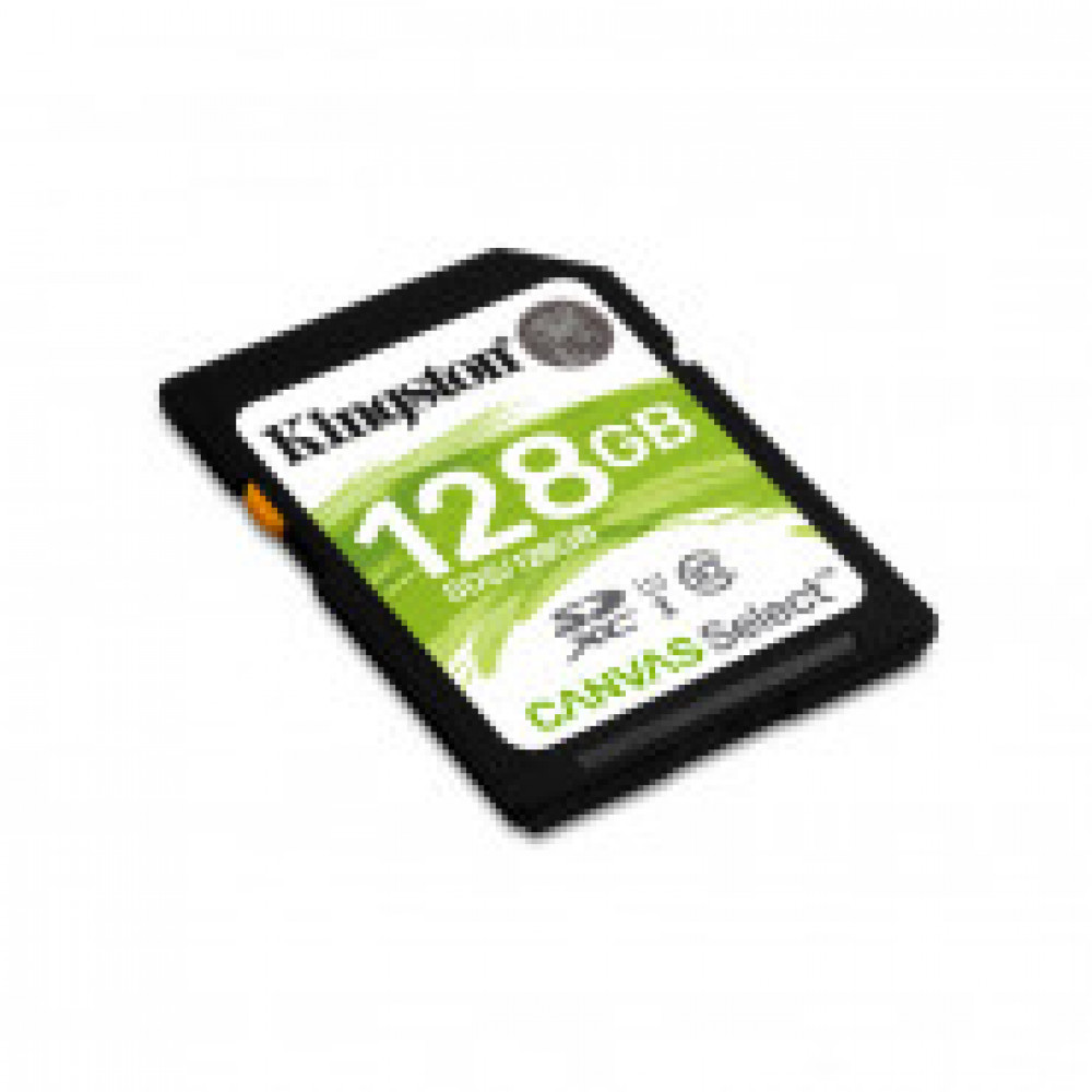 Карта памяти Kingston Canvas Select SDXC 128Gb, Class 10 UHS-I,SDS/128GB