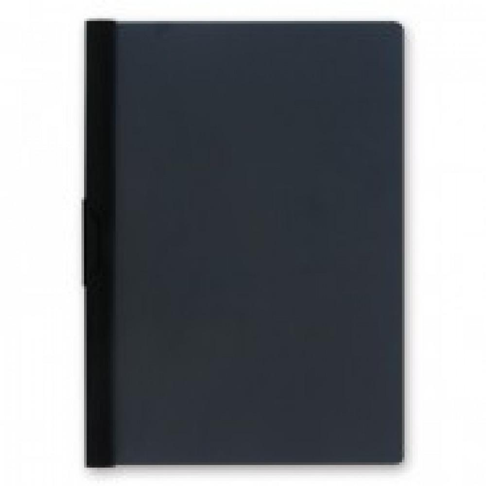 Папка с клипом BANTEX пласт. черная 100551598/326010