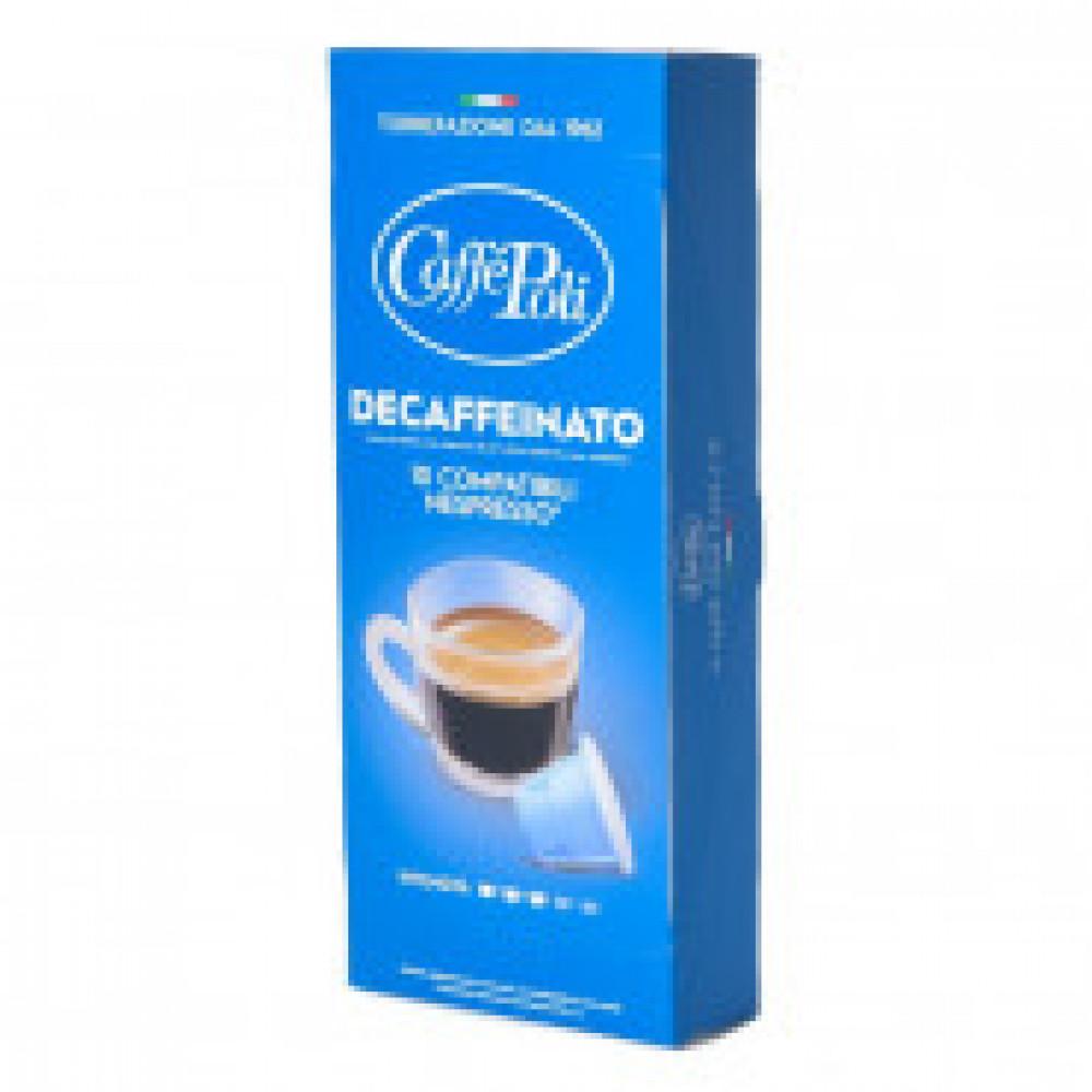 Капсулы для кофемашин Caffe Poli Decaf 10*5,2г.