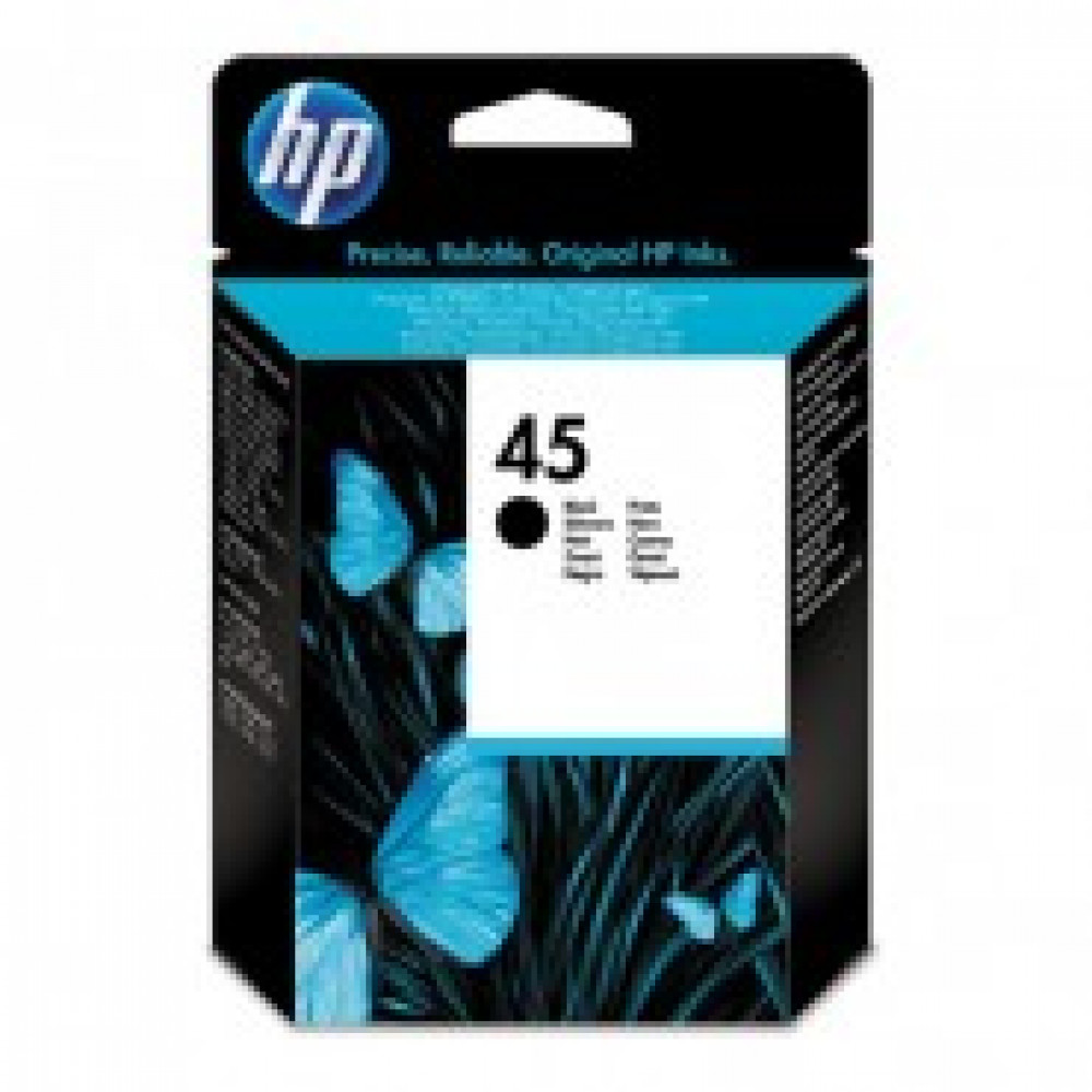 Картридж струйный HP 45 51645AE черный оригинальный повышенной емкости