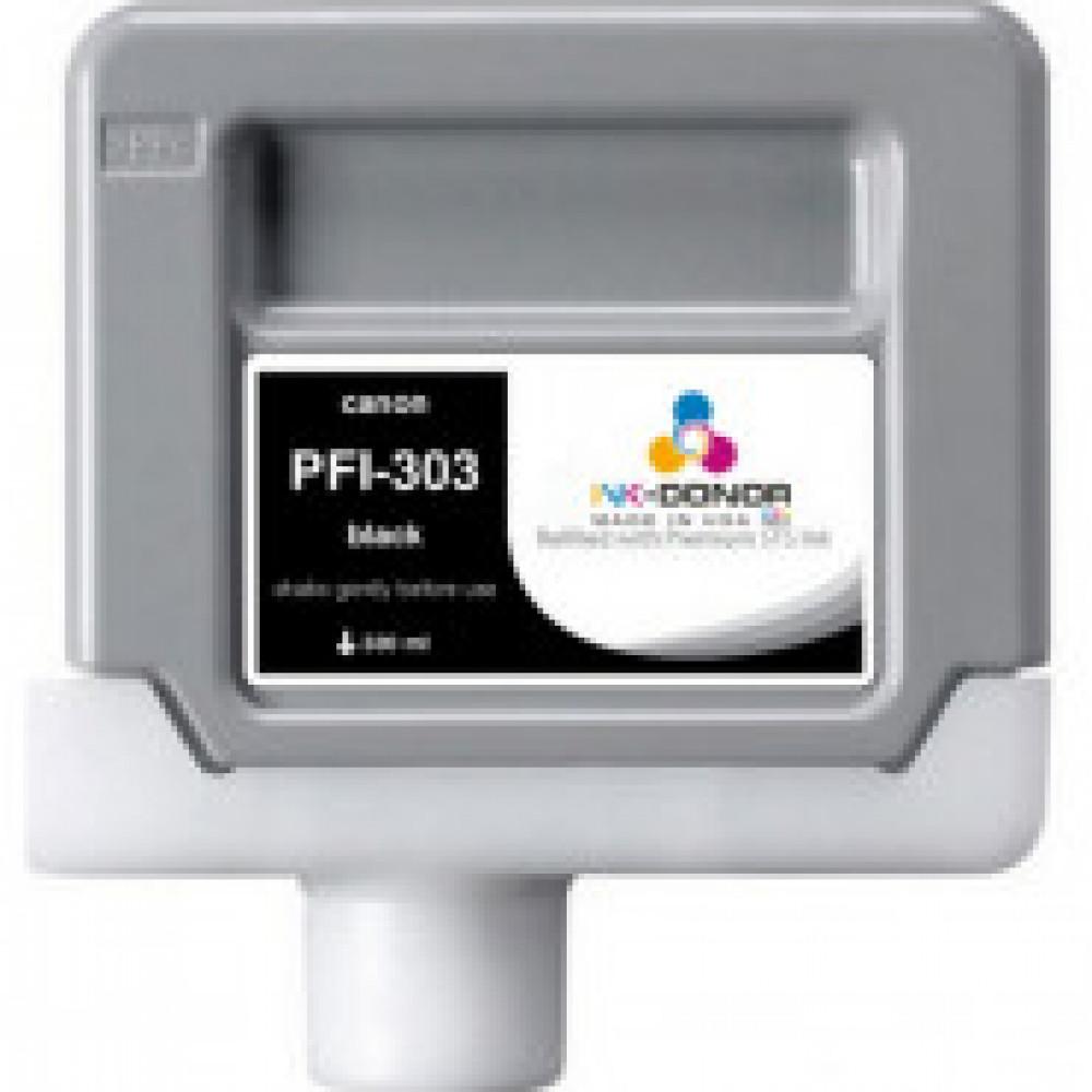 Картридж струйный Canon PFI-303BK (2958B001) чер. для iPF810/820