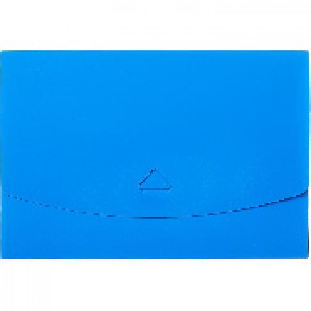 Папка короб Attache  А5 на клапане, синяя
