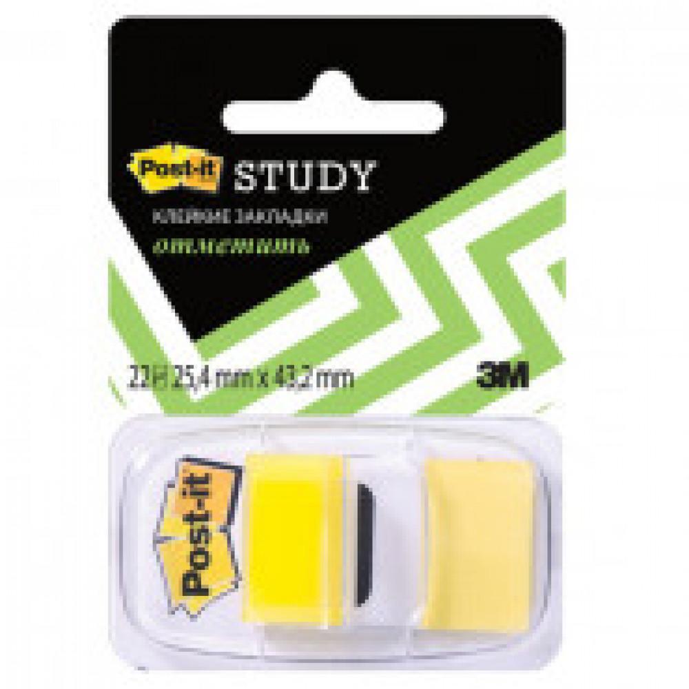 Клейкие закладки Пласт. 1цв.по 22л. 25мм желтые Post-it ?680-Y-LEU(LRU)