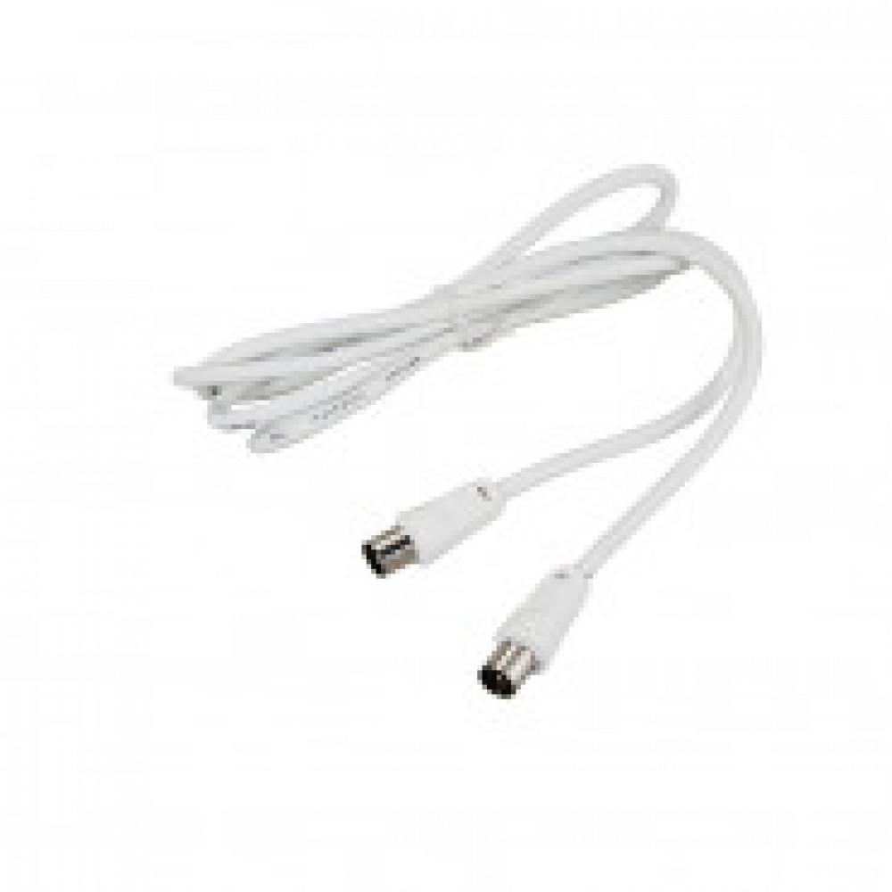 Кабель REXANT(18-0102) TV Plug - TV Plug 1.5М Белый