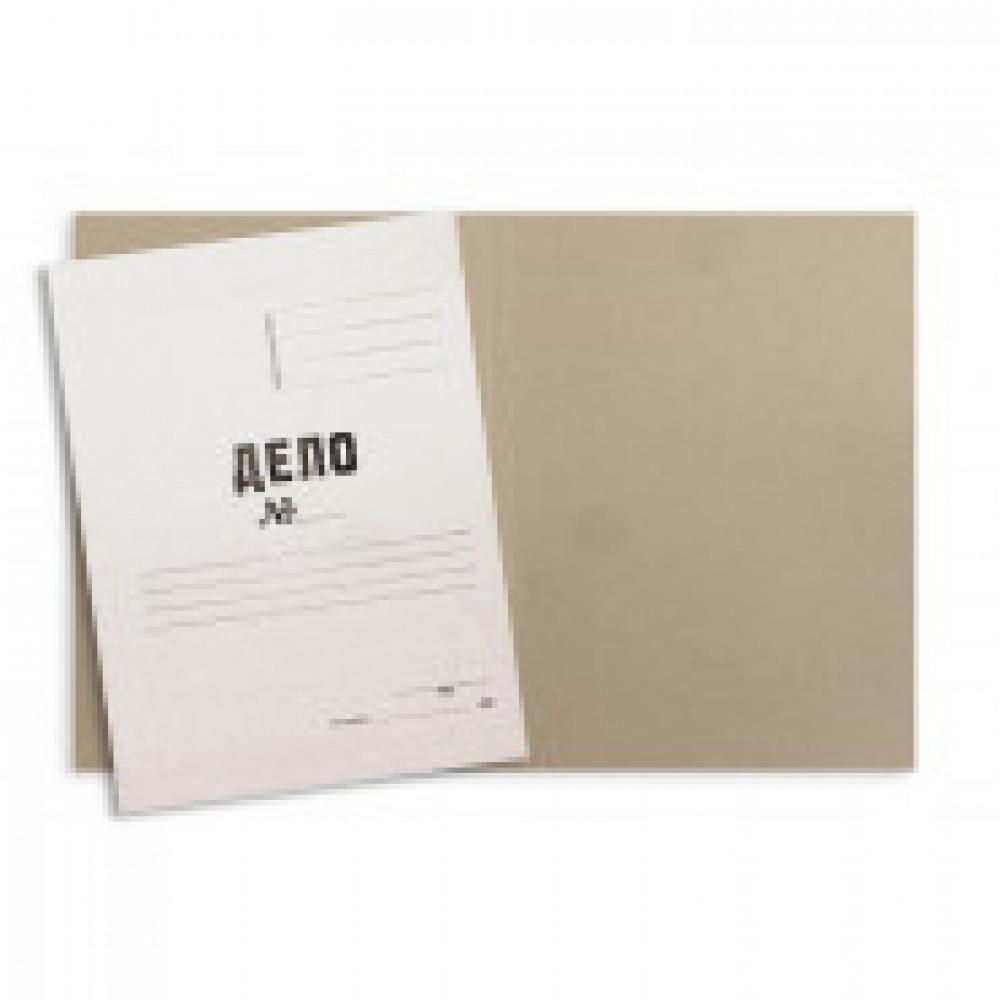 Папка обложка ДЕЛО 260г/м2 немелованная