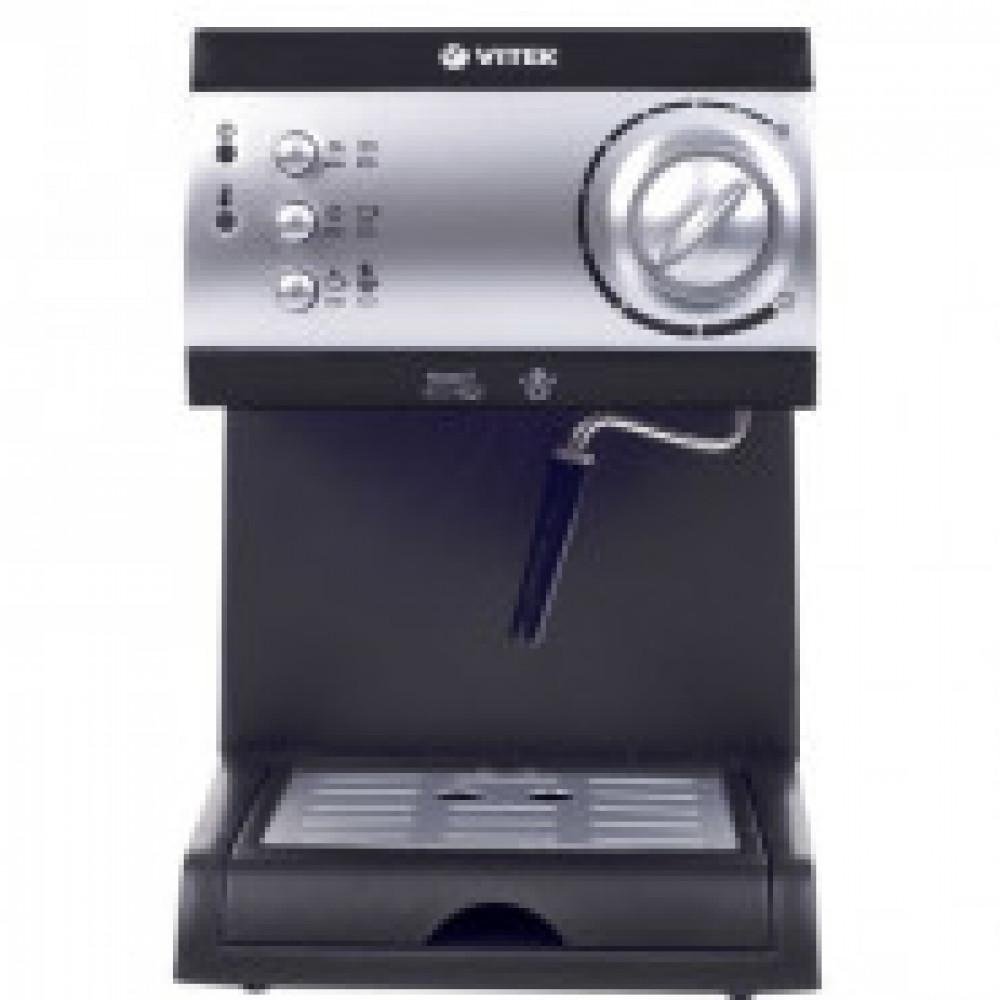 Кофеварка Vitek VT-1511 (BK) 1050 Вт. Черная