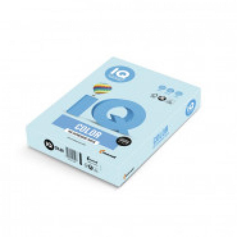 Бумага цветная IQ COLOR (А3,80г,МВ30-голубой) пачка 500л.