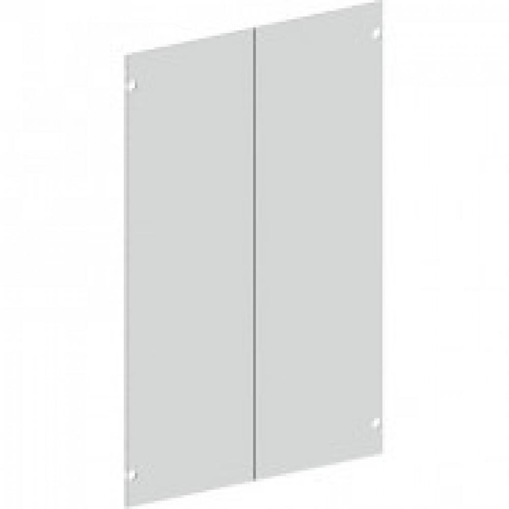 Двери Vita стеклянные средние (прозрачные, 766x4x1148 мм, 2 штуки в упаковке)