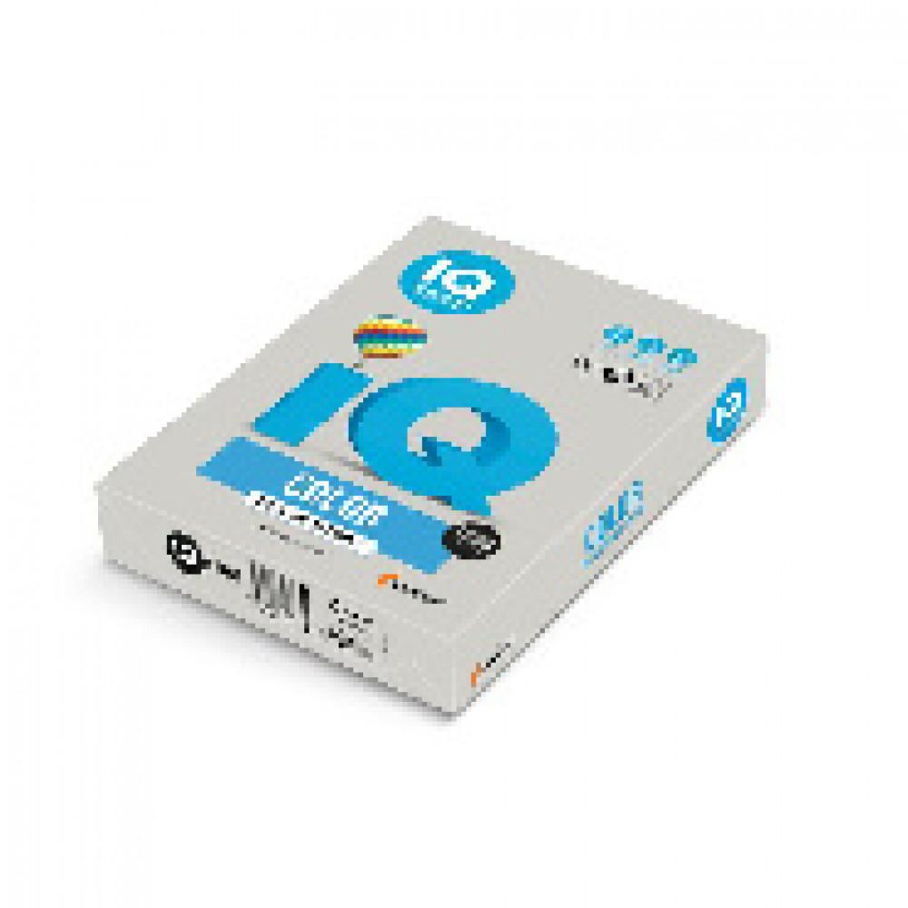 Бумага цветная IQ COLOR (А4,160г,GR21-серый) пачка 250л.