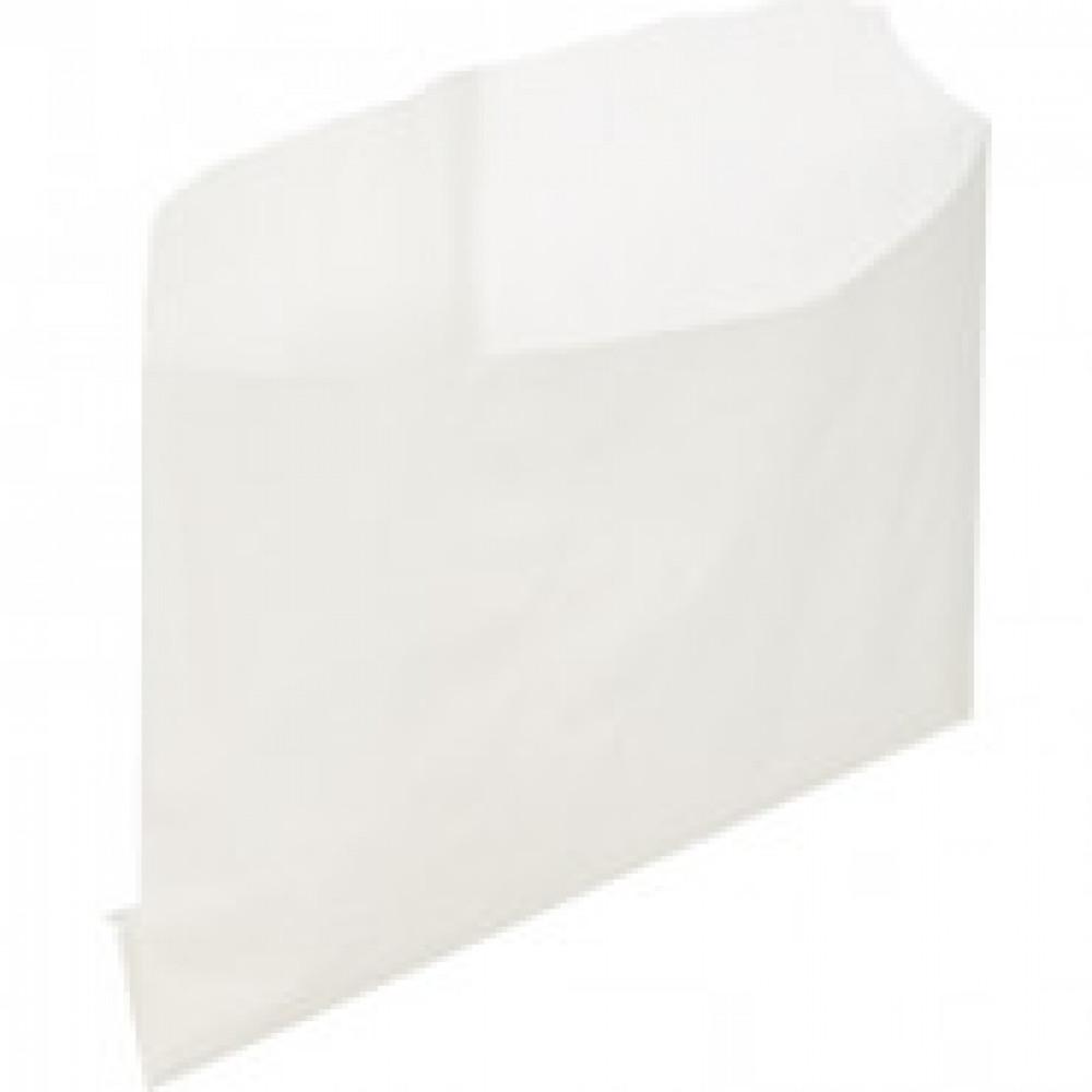 Пакет бумажный крафт белый 115x100мм, (ECO BAG FRY) 3000шт/уп