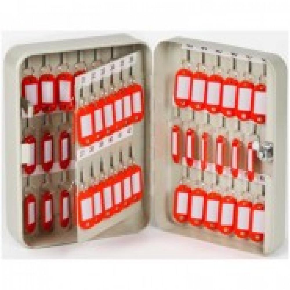 Метал.Мебель Office-Force Шкаф для 60 ключ.20071,сер,180х80х250