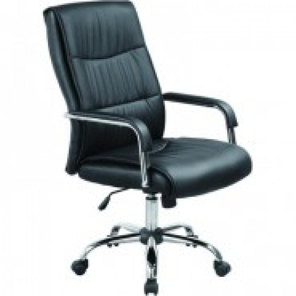 Кресло BN_Dt_Руководителя EChair-509 TPU к/з черный, хром