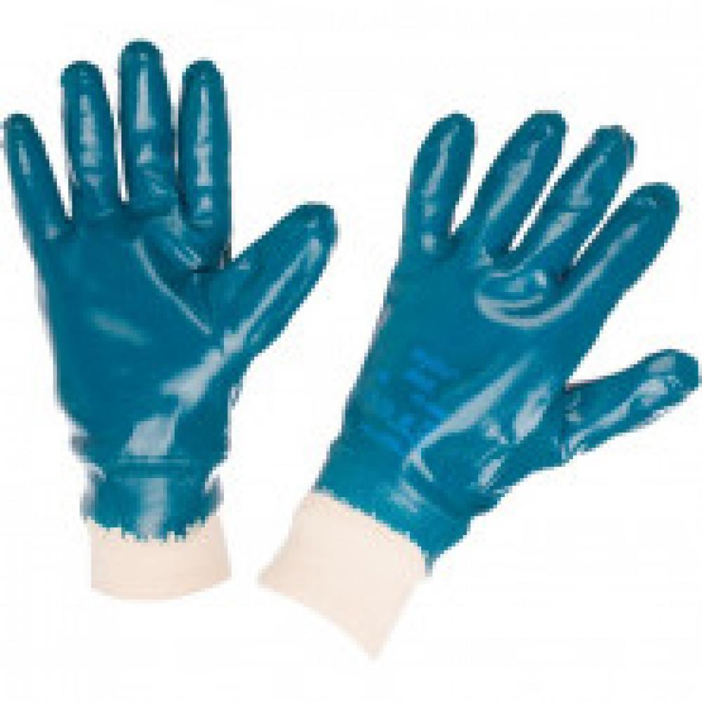 Перчатки защитные Ansell ХАЙКРОН полное нитриловое пок резинка (27-602)р.10