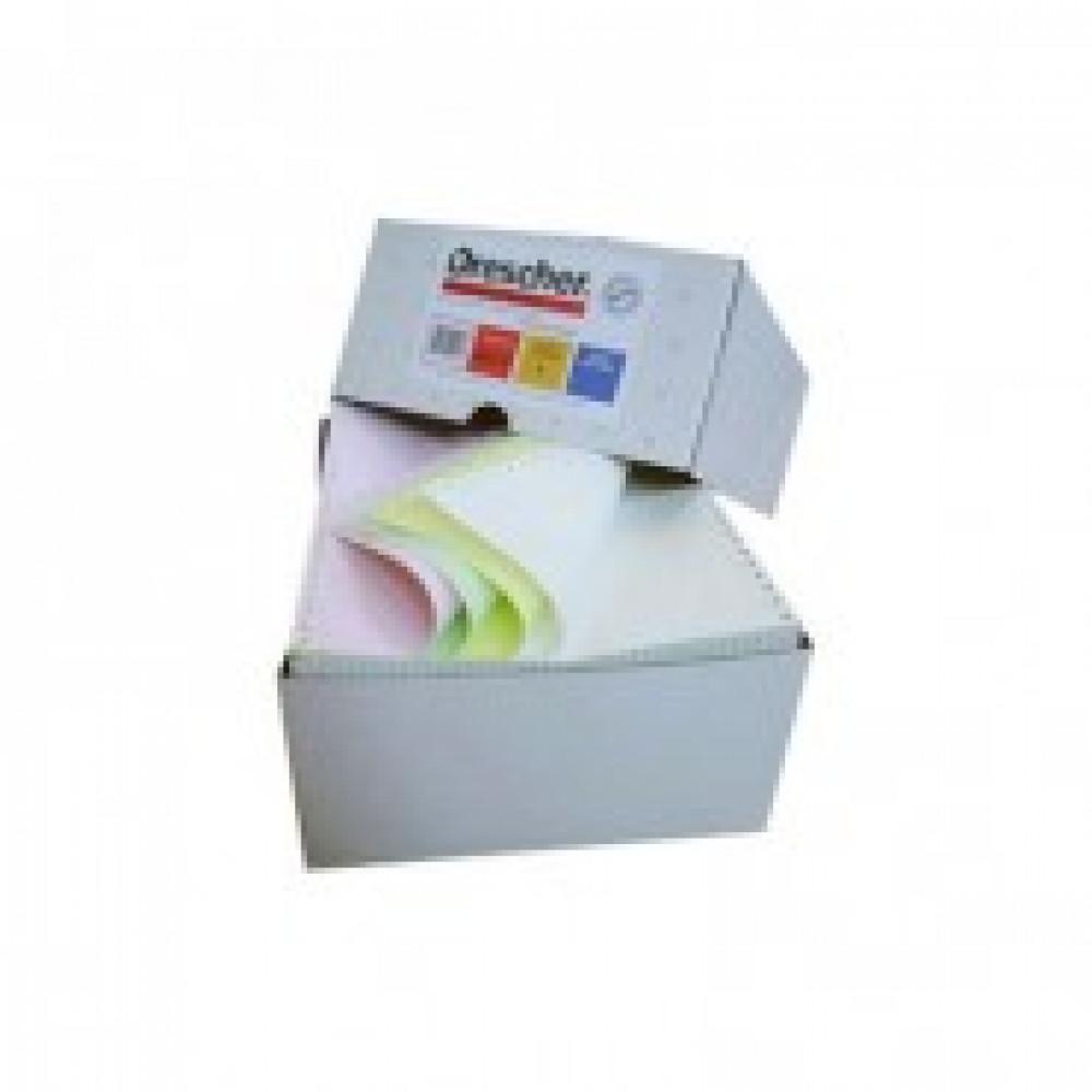 Самокоп.непрер.компьютерная бумага 240х12, 2-сл.Drescher,цвет, 900экз/уп