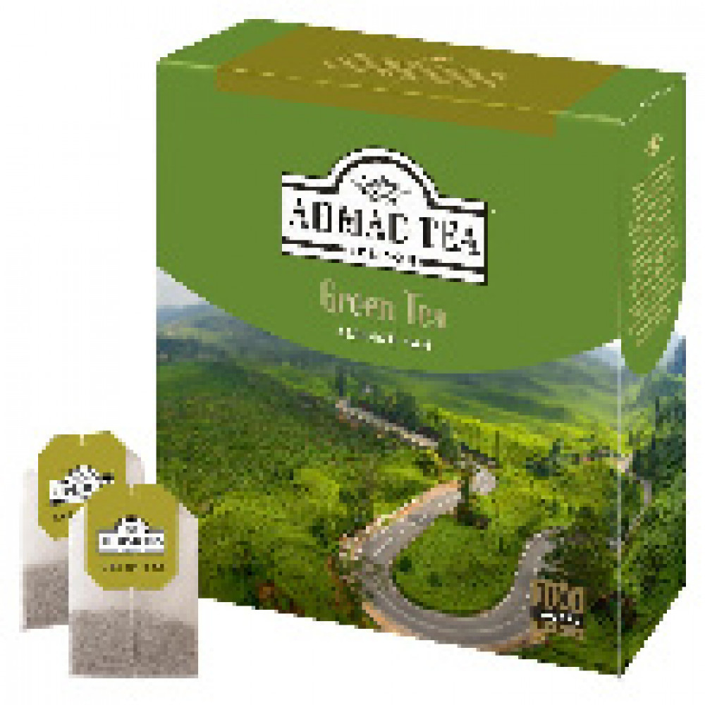 Чай Ahmad Green Tea зеленый 100пак/уп 478