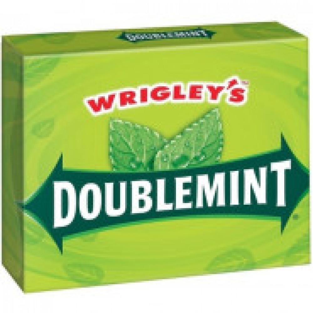 Жевательная резинка Wrigley?s Doublemint мята, 40.5г