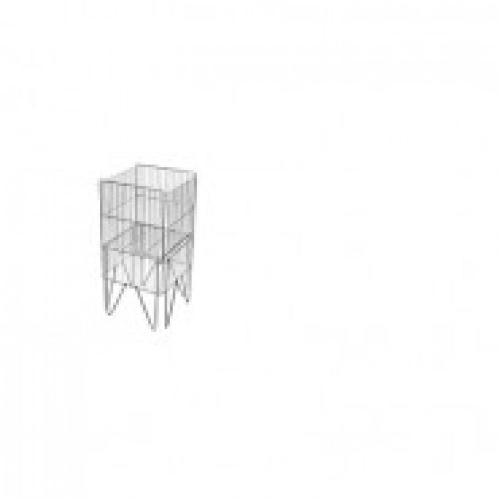 Накопитель для торгового зала MDM_3rd 001-2 410x410 хром