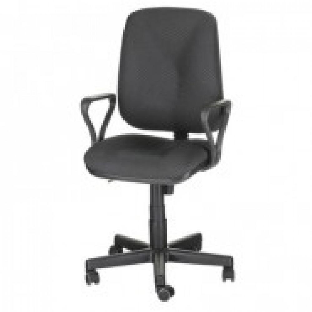 Кресло OL_EChair-301 PJP ткань серая 15/1, пластик