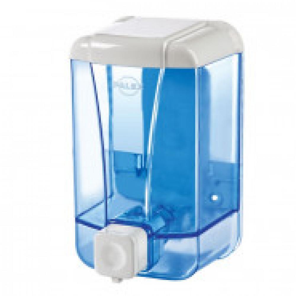 Дозатор для жидкого мыла Palex 3420-1 пластик прозрачный 500 мл