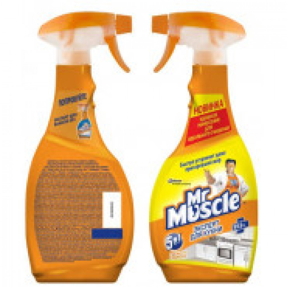 Чистящее средство для кухни МИСТЕР МУСКУЛ с курком 500мл