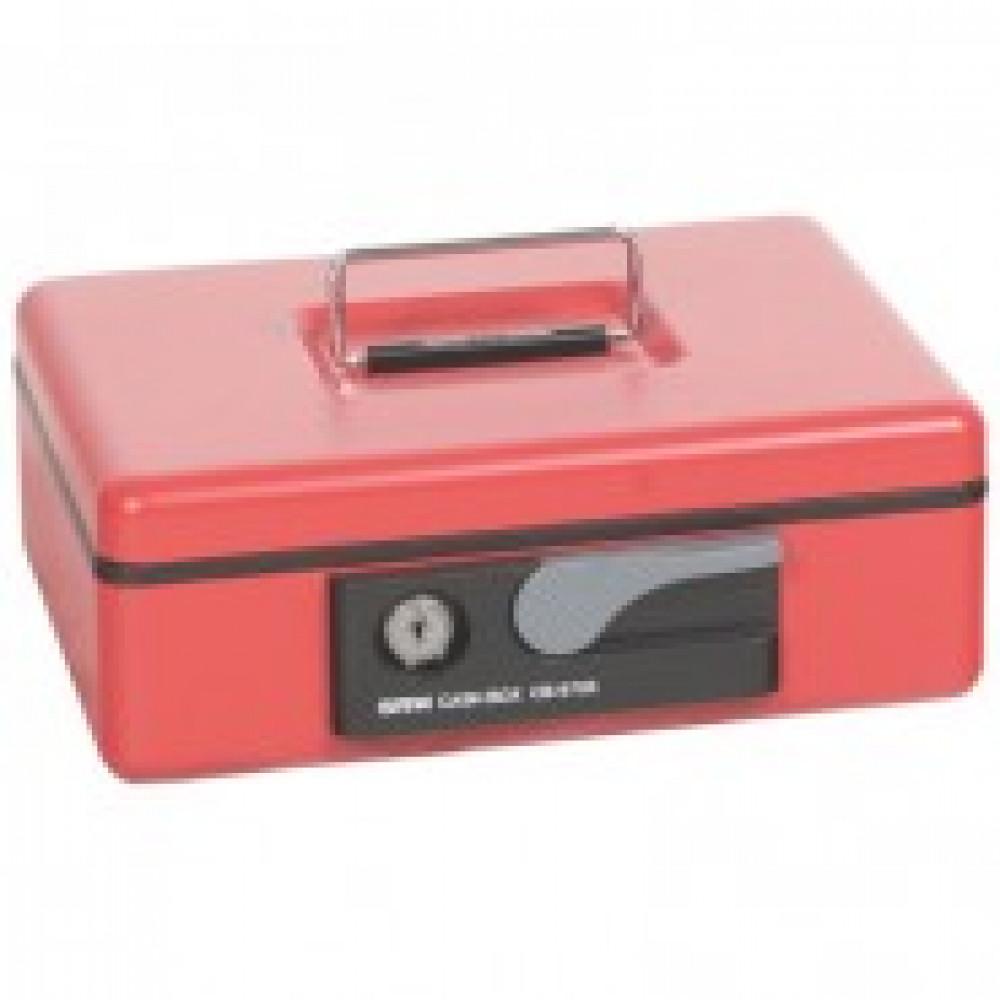 Метал.Мебель SHUH RU CB-9705N кэшбокс красный, ключ.з 230х185х80