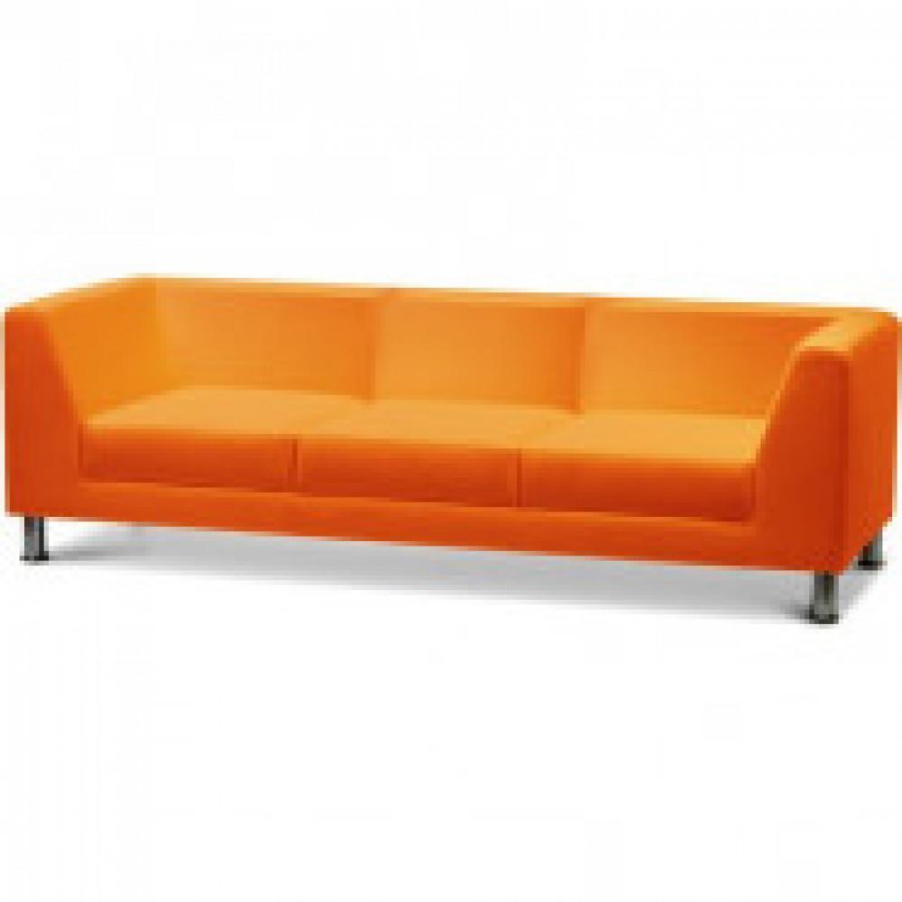 Мягкая мебель MV_EVOLUTION диван 3-хместн. к/з оранж. Oregon 20