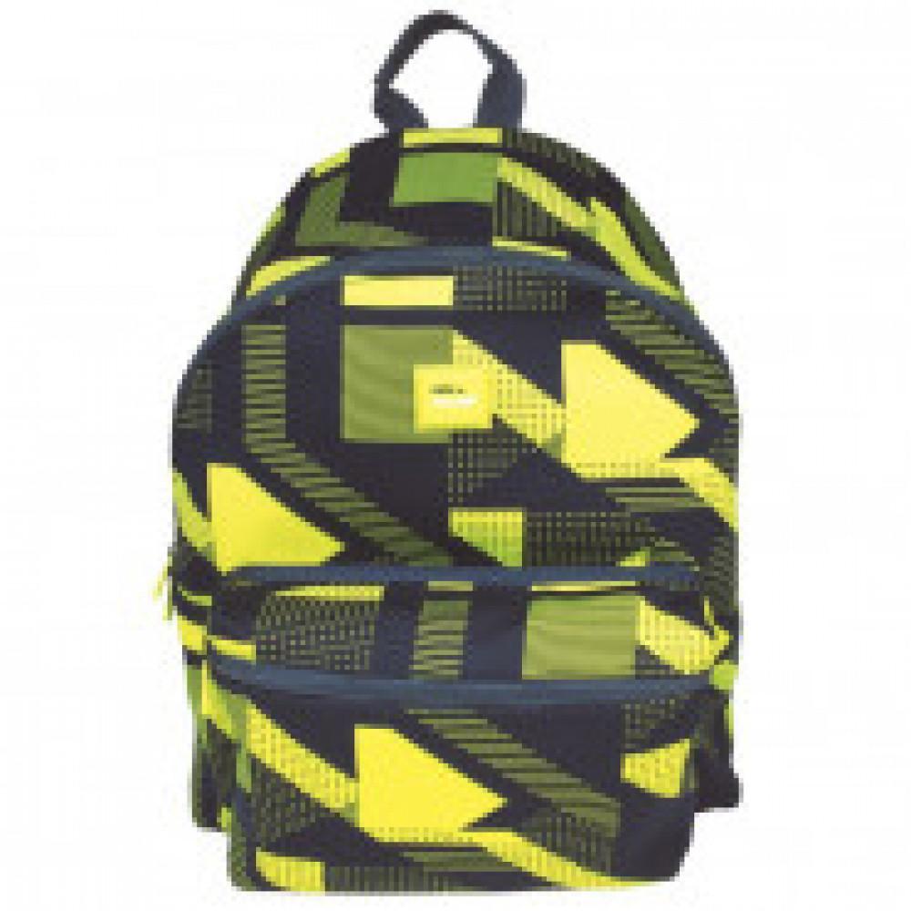 Рюкзак Knit, желтый 41x30x18 см, вместиомсть 21л, 624605KNY