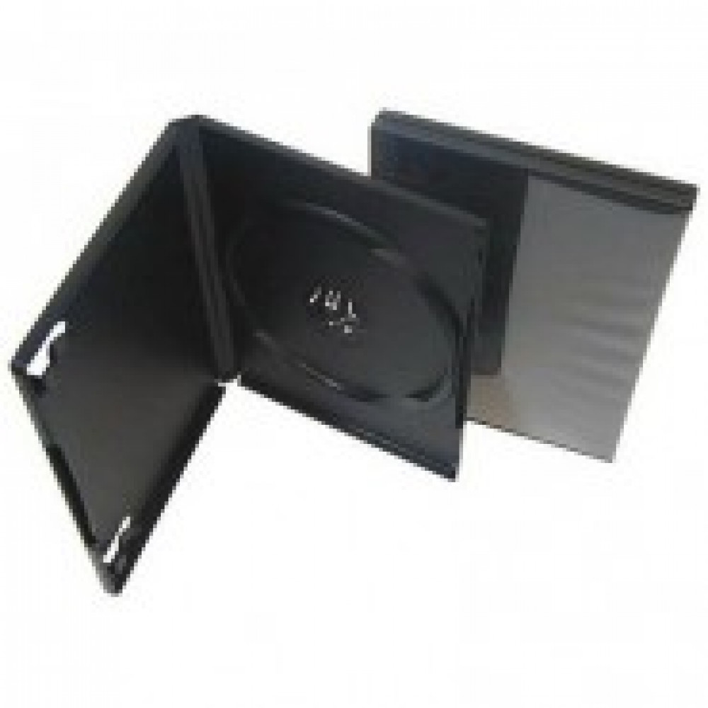Бокс для CD/DVD дисков VS DVD-box/5 14мм черный