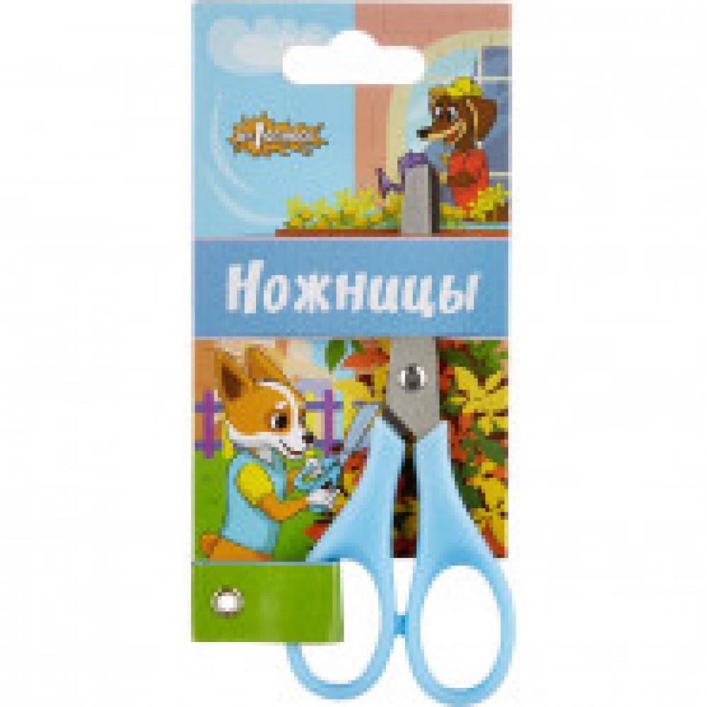 Ножницы детские №1School 11,5 см Шустрики, пластиковые ручки,