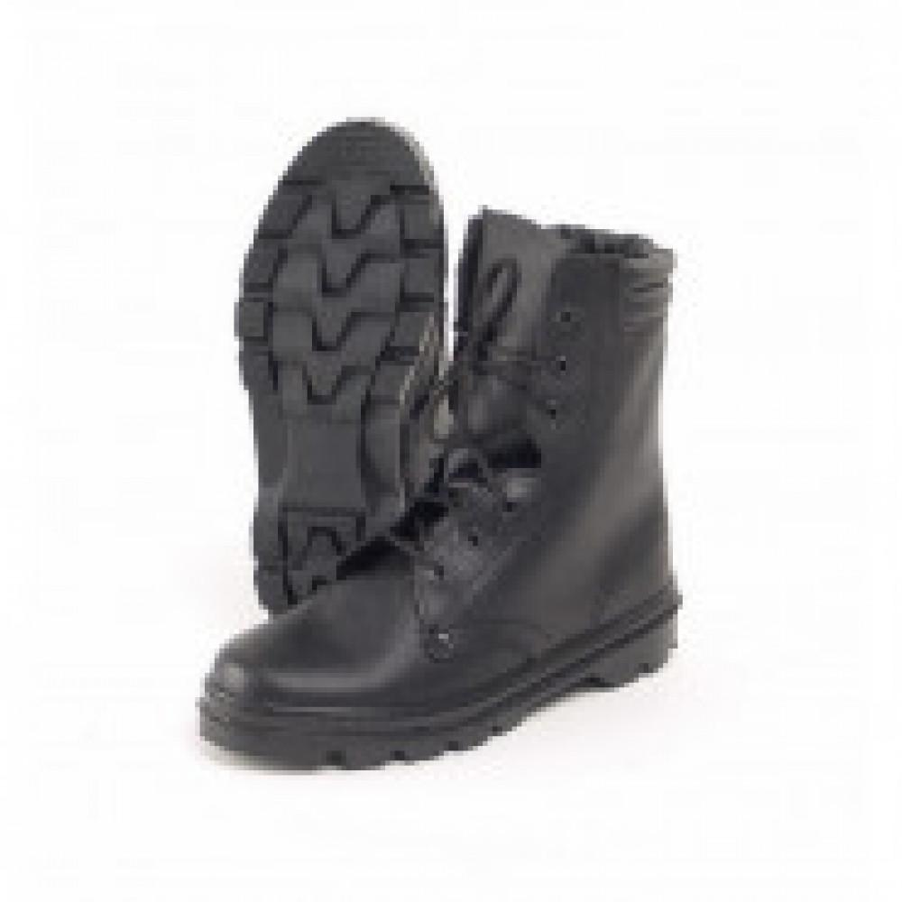 Ботинки  ОМОН  с высоким берцем юфтевые (р.47)