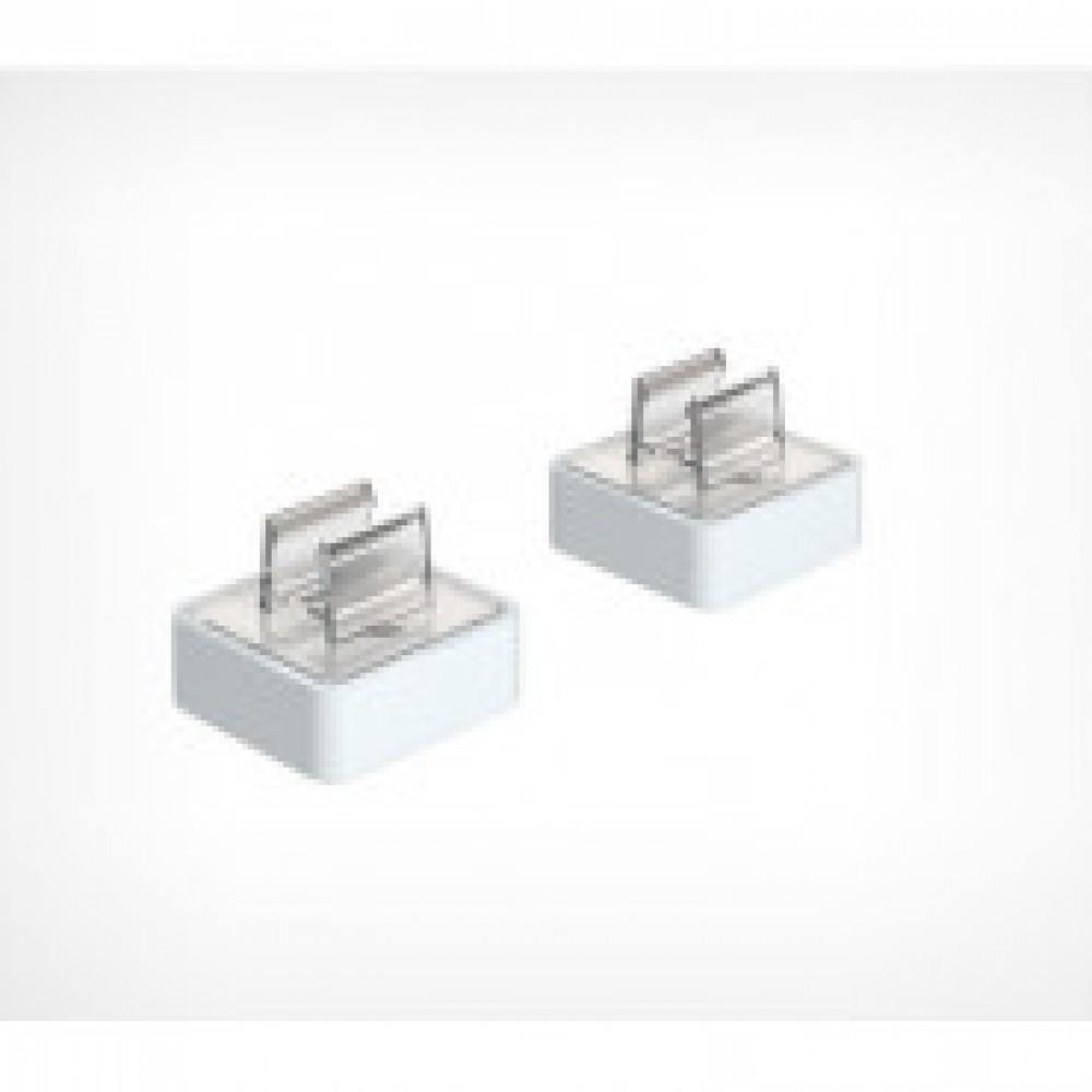 Держатель магнитный под углом 90 градусов для пластиковых рамок (10 штук в упаковке)