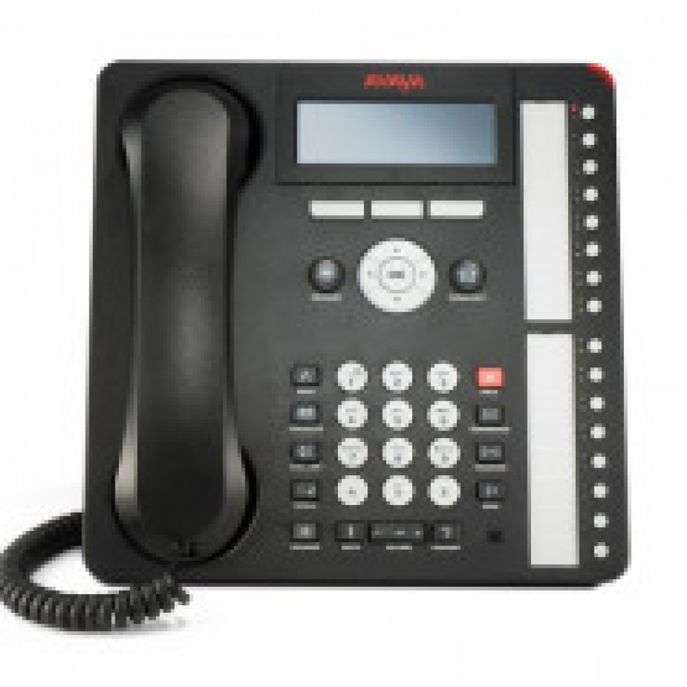 IP-телефон Avaya IP PHONE 1616-I BLK (700458540, 700504843)