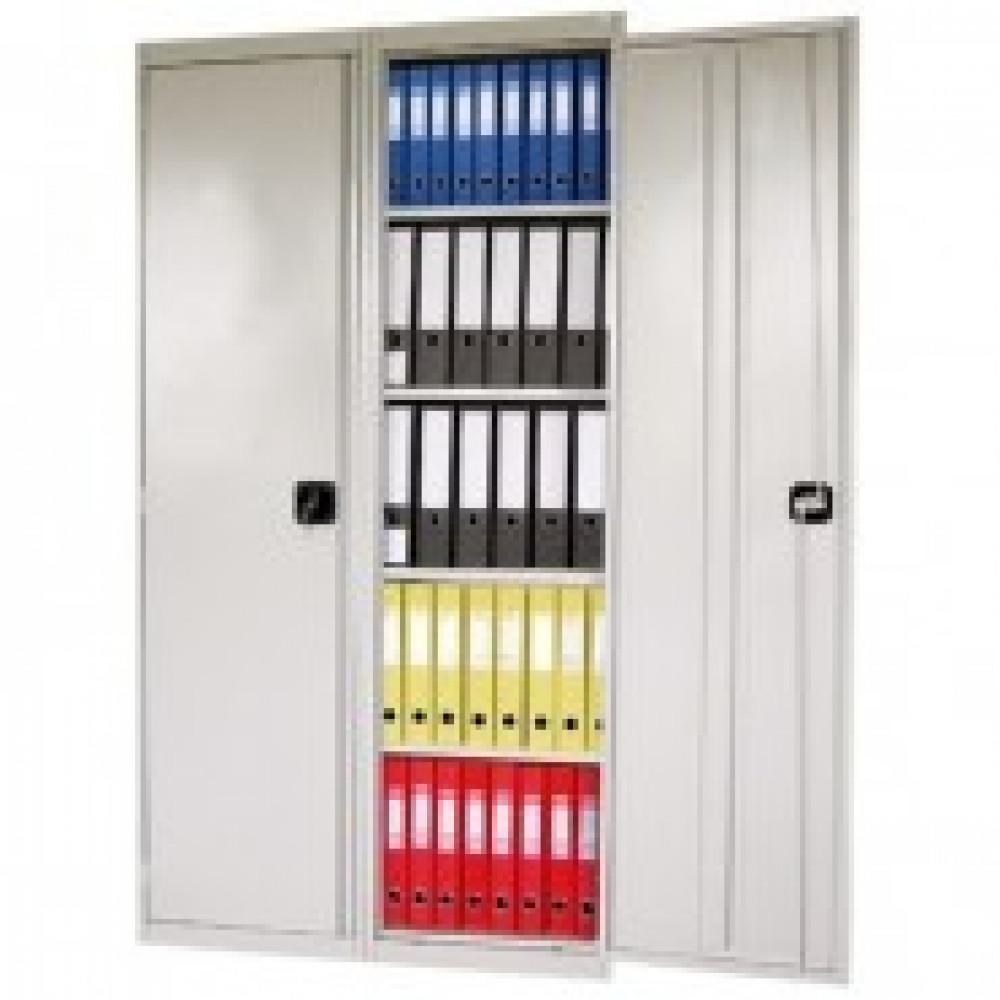 Метал.Мебель MZ_ШХА100 (50) шкаф д/бумаг, 8 полок, 2дв. 980х500х1850
