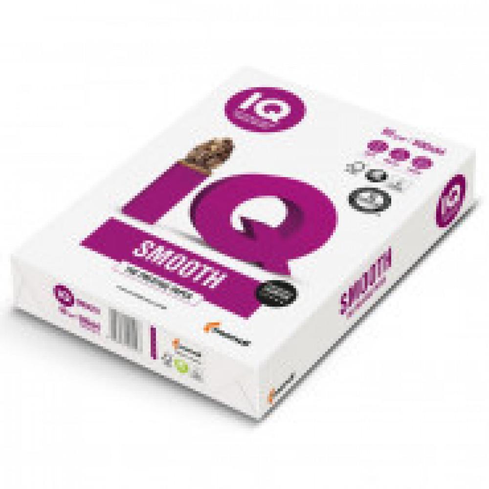 Бумага для ОфТех IQ Smooth (А4,90г,170%CIE ) пачка 500л.