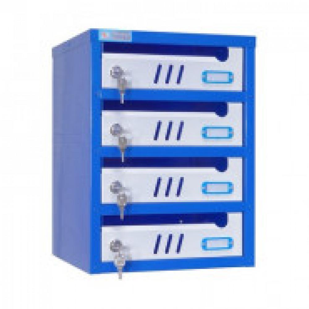 Ящик почтовый Мн ЯПС-3, ящик почтовый, 4 секция, 310х320х420
