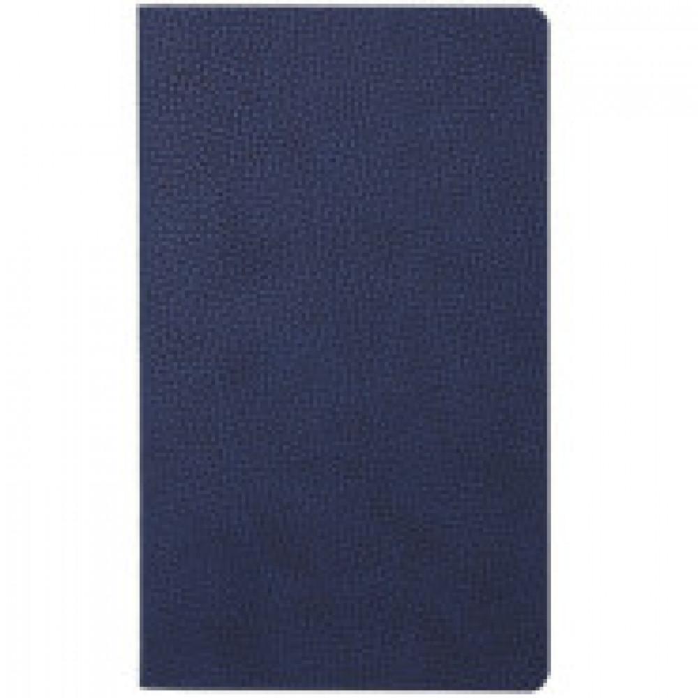 Бизнес-тетрадь 64л,клетка,А5,125x210мм,синий АТТАСНЕ Bizon