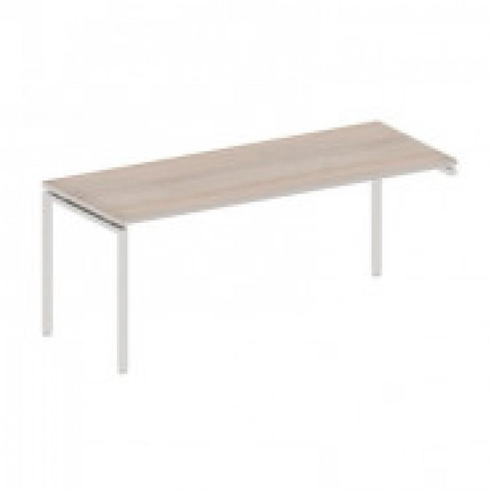 Мебель Easy T Стол прав(69,60,63,72) св.дуб(430/720) Ш1800