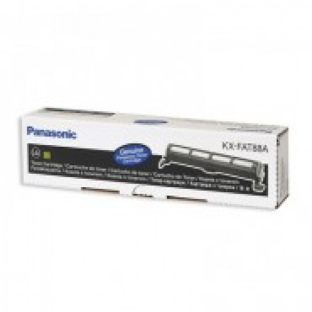 Тонер-картридж Panasonic KX-FAT88A7 чер. для FL403/413/423/418