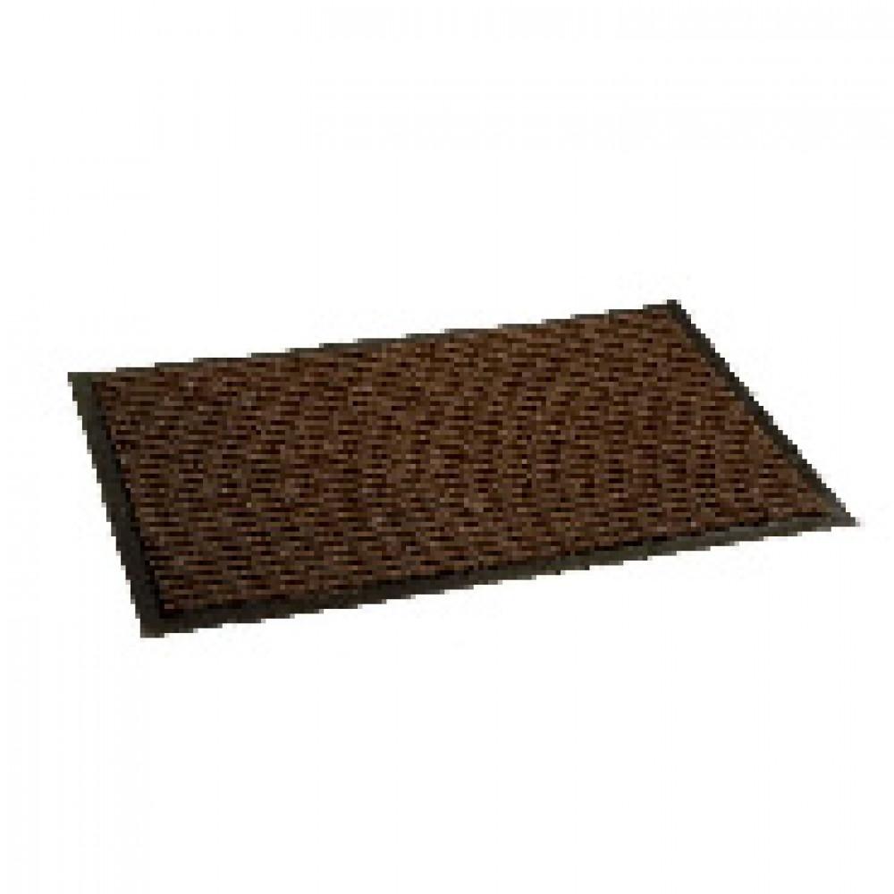 Ковер входной влаговпитывающий Luscan 600х900 мм коричневый