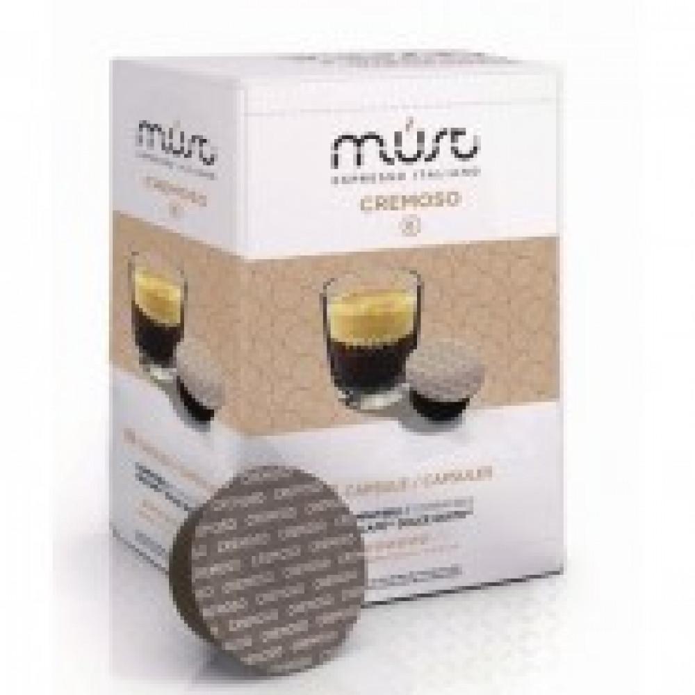 Капсулы для кофемашин MUST ESPRESSO ITALIANO CREMOSO 16 капсул