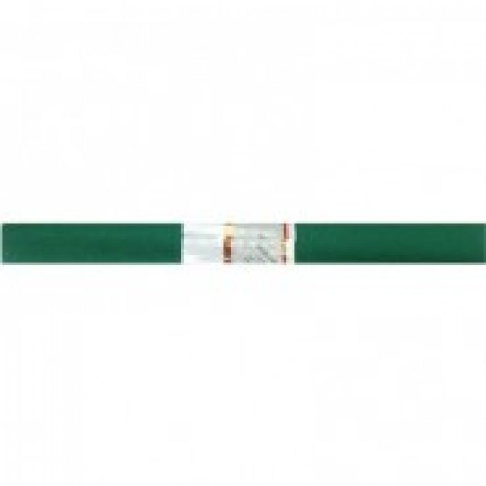 Бумага для творчества креповая WEROLA, 50см*250см 32г/м изумрудная, 12061-1