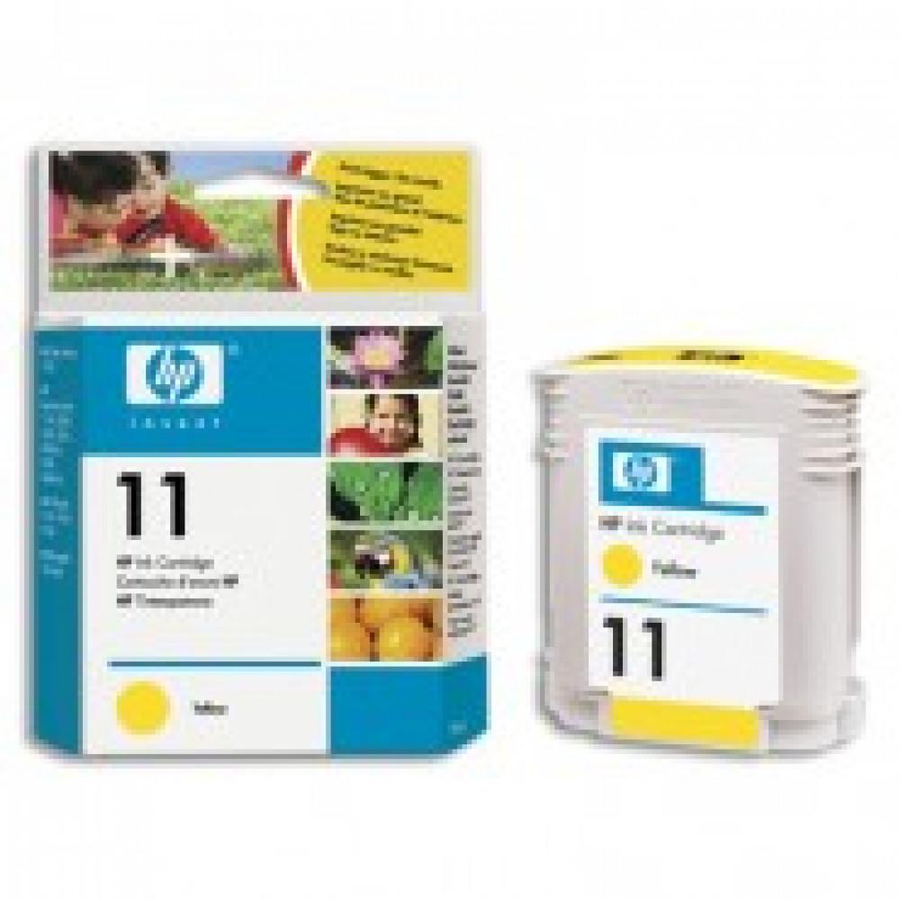Картридж струйный HP 11 C4838AE желтый оригинальный