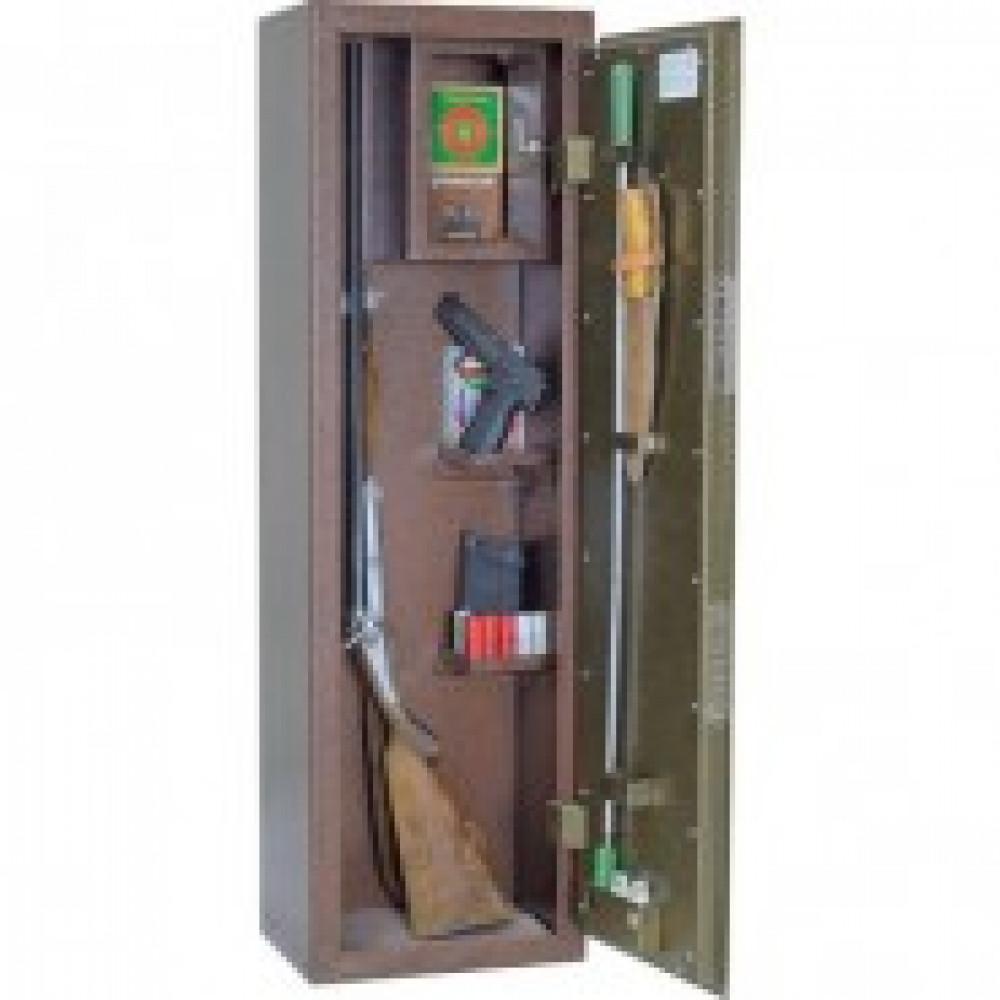 Сейф Мн ОШ-2С шкаф оруж., 2 ствола, ключ.замок