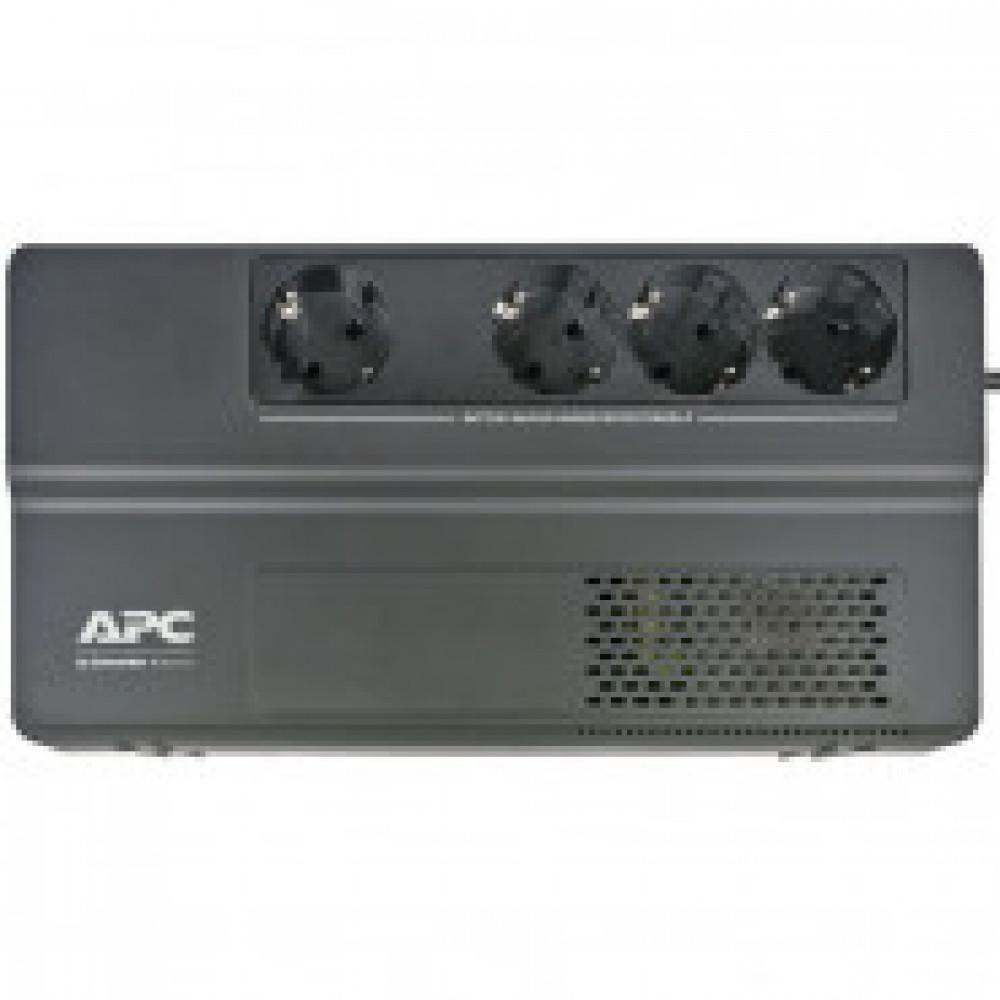 ИБП APC Back-UPS BV1000I-GR 1000VA/600Вт 4 EURO черный