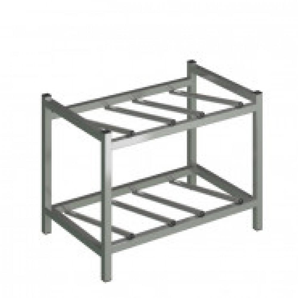 Метал.Мебель KD_Бомис-4Л стеллаж для воды бутилир. на 4 тар