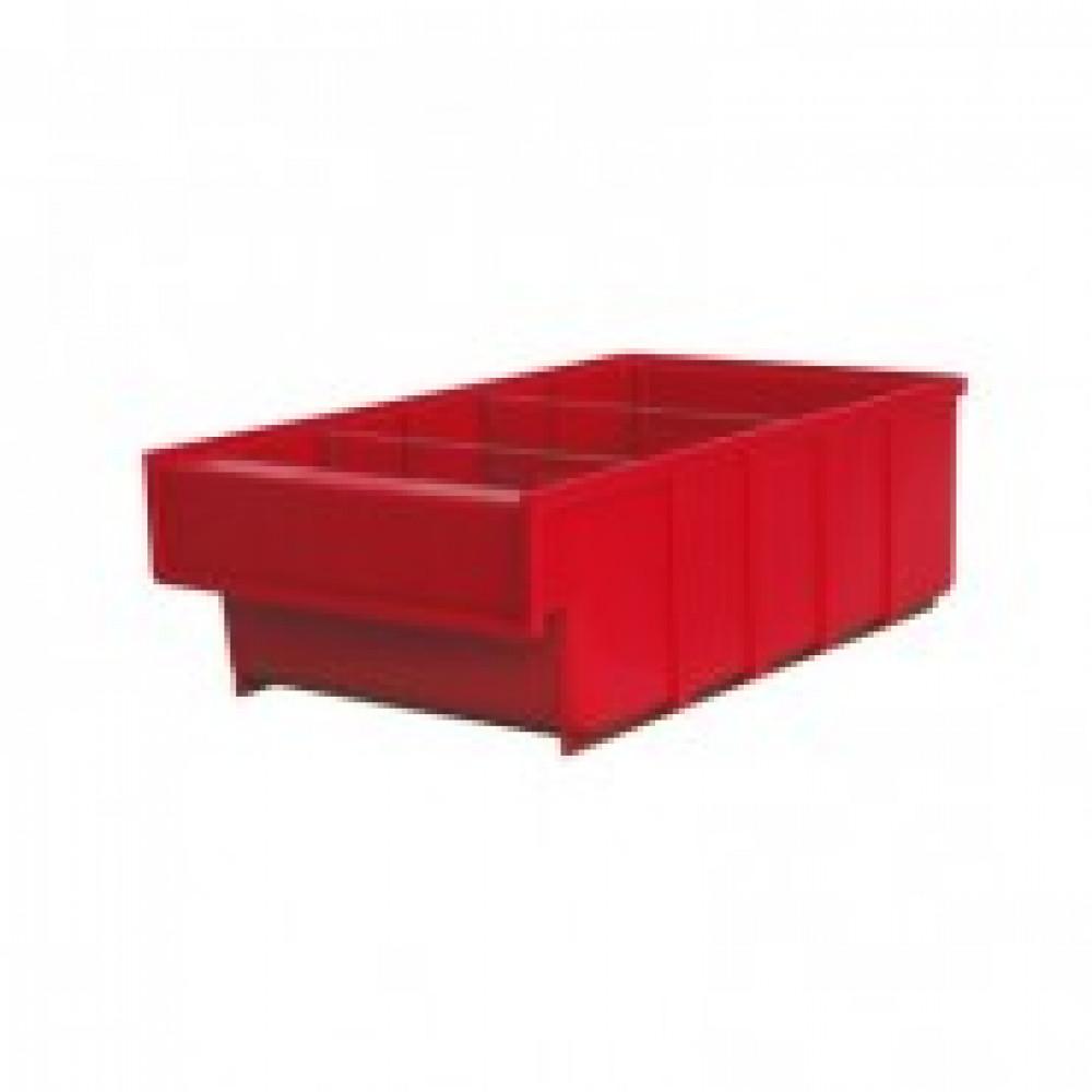 Метал.Мебель D_Ящик пластиковый Серия Б красный 185х300х100