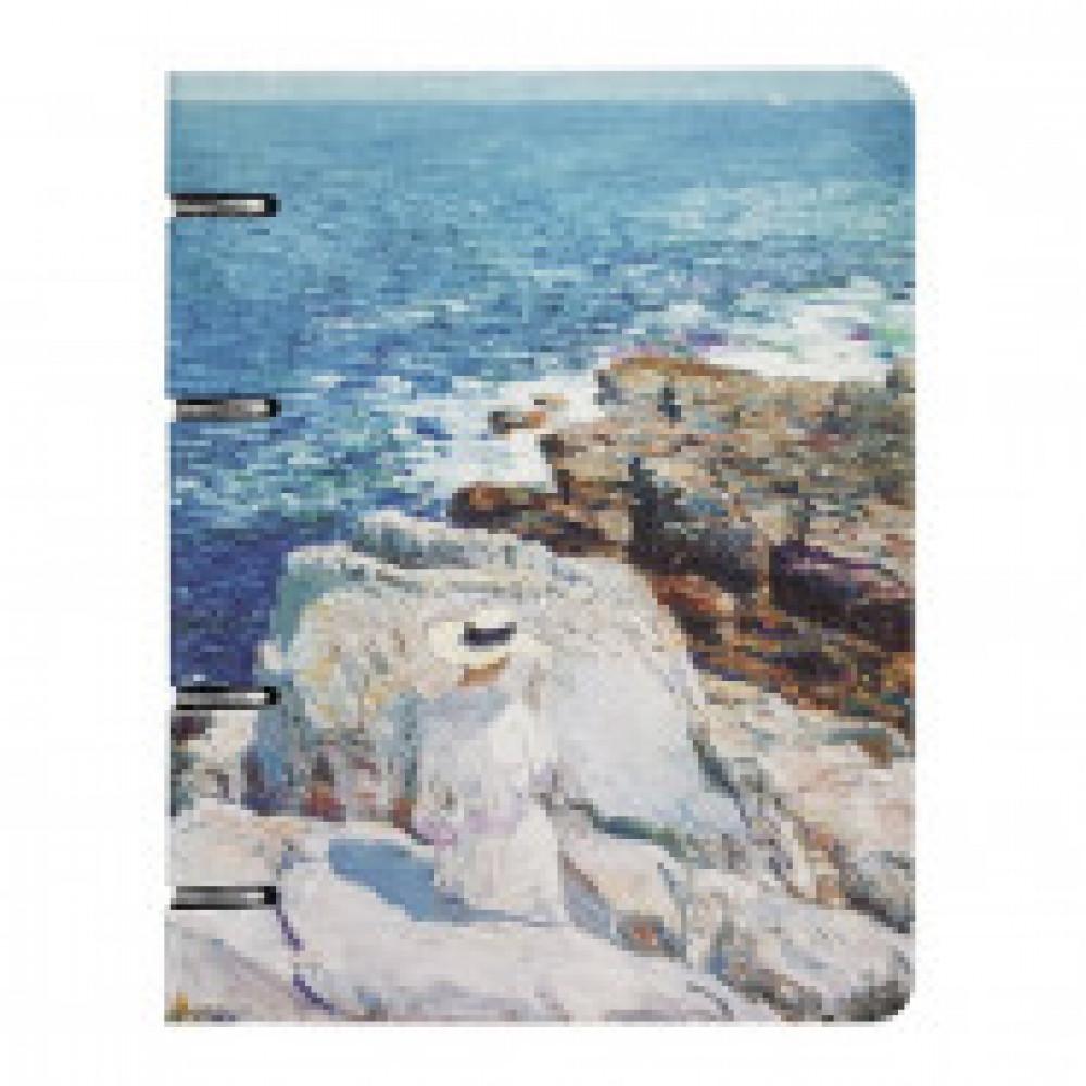 Бизнес-тетрадь Art-Blanc Hassam А5,120л,163х212мм,клетка,на кольц N1603K